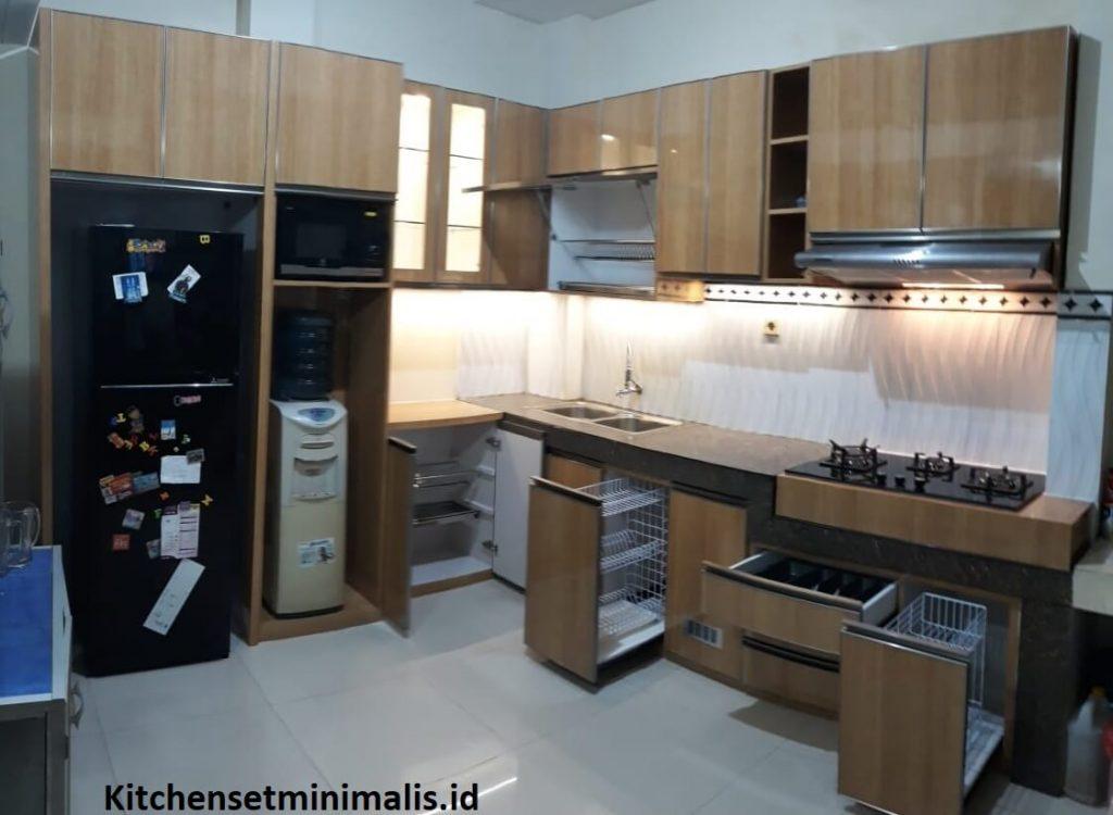 jenis-jenis kabinet pada kitchen set