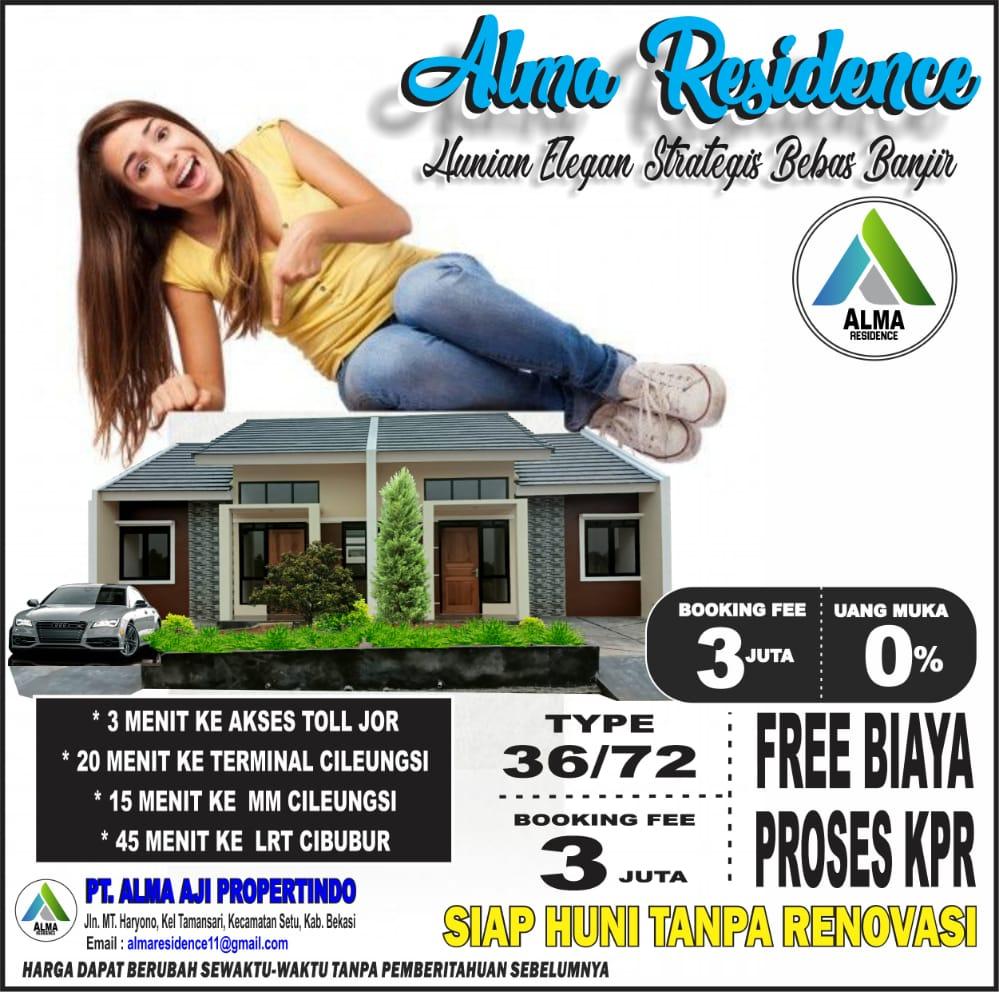 Alma Residence setu Bekasi